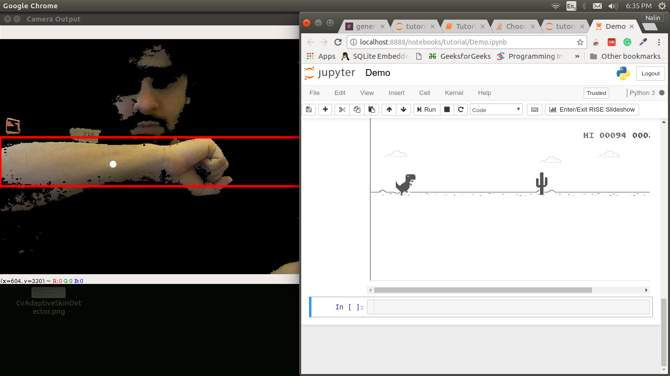 Nalin Chhibber | Skin Detection Using OpenCV Python